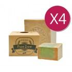 【屯貨四件組】PureDew 阿勒坡親膚古皂 (5%月桂油)200g±10%