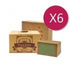 【屯貨六件組】PureDew 阿勒坡親膚古皂 (40%月桂油) 190g±10%